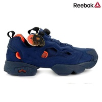 Limited quantity Special SALE )  Reebok Classic Instapump Fury Tech V63499  Navy Shoes