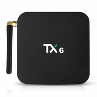 Tanix TX6 Allwinner H6 4GB RAM 64GB ROM 5G WIFI bluetooth 4.1 Android 9.0 4K USB 3.0 TV Box