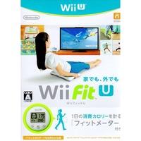 現貨中  Wii U遊戲 塑身 U Wii Fit U 日文日版 附FIT U 計步器【魔力電玩】