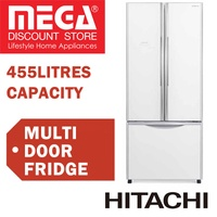 HITACHI R-WB550P2MS MULTI DOOR FRIDGE 455L / WITH FREE RICE COOKER / LOCAL WARRANTY