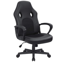 Kaimeng Office Chair Desk Leather Gaming Chair High Back Ergonomic Adjustable Racing Chair Executive Computer Chair
