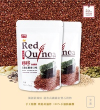 Taiwan Healthy Snack: 2 Packs x Red Quinoa with Crispy Seaweed 70g - CHIU CHENG