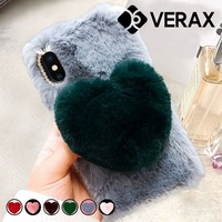 Galaxy A50 Heart Light Gray Silicone Case P245-5