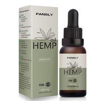 Pansly Organic Hemp Seed Relief Body Pressure Oil Skin Care 10Ml