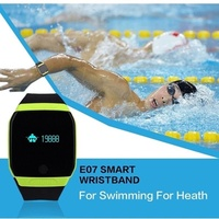 New fashion  Bluetooth Smart Bracelet Fitness Tracker Smart Band Sport Wristband Swimming Watch Wate
