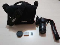CANON EOS 550D with Bag/Tripod/Dry Cabinet/8GD memory card