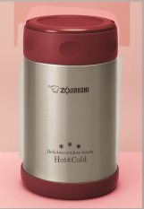 Zojirushi SW-EXE50  Stainless Steel Food Jar with Bag (Red)