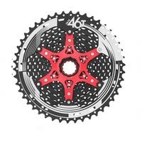 SunRace CSMX8 11-46T 11速飛輪相容SRAM SHIMANO 比XT還輕 黑色 自行車
