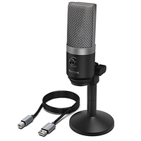 USB Microphone,FIFINE PC Microphone for Mac and Windows Computers,Optimized for Recording,Streaming
