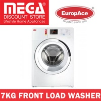 EUROPACE EFW5700S 7KG FRONT LOAD WASHER / LOCAL WARRANTY