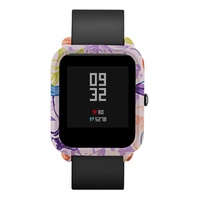 Delicacy bluetooth Touch ScreenNew Pattern PC Case Cover Protect Shell For Xiaomi Huami Amazfit Bip Youth Watch