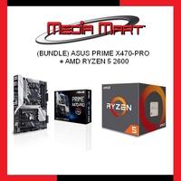 (BUNDLE) ASUS PRIME X470-PRO + AMD RYZEN 5 2600