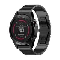 Garmin Fenix 5X Stainless Steel Watch Band Strap for Garmin 3 Garmin Training Watch HR 3 Fenix5X Fenix GPS Fenix Multisport