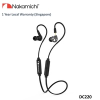 Nakamichi DC220 Detachable Bluetooth In-Ear Earphone (Black)