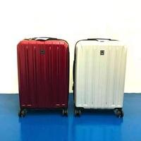 Delsey Expandable Luggage (Medium-Sized) Silver