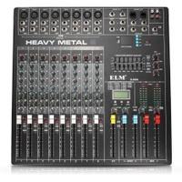 ELM 8 Channels Professional Live Studio Audio Mixer Mixing Console DSP Effect - intl