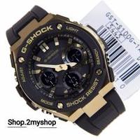 CASIO G SHOCK STEEL BLACK GOLD COLLECTION GST-S100G-1A
