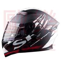 【歐樂免運】SBK SV PRIDE 平黑白 彩繪 /可樂帽/ 全罩式安全帽 /雙D扣/內襯 /流線型外觀 /加贈鏡片