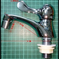 單把手陶瓷省水立栓 4分 陶瓷芯 省水頭 水龍頭 立式龍頭 臉盆龍頭 面盆龍頭 水槽水龍頭 四分