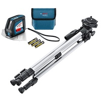[Direct from Germany] Bosch professional GLL 2-50, 20 m working area (without receiver), construction tripod, bag, lase...