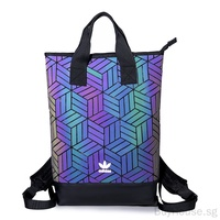 Original Adidas Bags Issey Miyake 3D Outdoor Travel Backpack School Student Bag