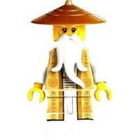 LEGO 70751 稀有!金袍吳大師