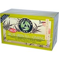 Triple Leaf Tea, 人參無咖啡因綠茶, 20 包, 每包1.4 oz (40 g)