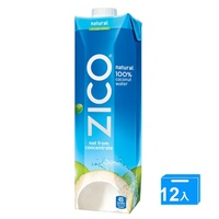 J-ZICO 100% 椰子水1000mlx12【愛買】