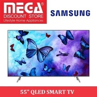 SAMSUNG QA-55Q6FNAK 55INCH QLED SMART TV / NO FREE GIFT / LOCAL WARRANTY