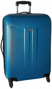 DELSEY Paris Delsey Luggage Comete 24 Inch Expandable 4 Wheel Spinner, Teal