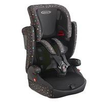 *babygo*Graco AirPop 嬰幼兒成長型輔助汽車安全座椅【黑#2034057】