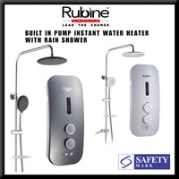 【 RUBINE 】● INSTANT WATER HEATER ● RAIN SHOWER  ● RWH-2388 ●
