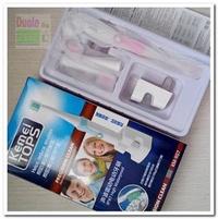 kemei聲波電動牙刷/防水等级IPX7 感應式充電/附杜邦刷頭*4個/電動牙刷