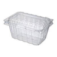 ✨現貨✨PET 塑膠盒 透明盒 水果盒 番茄盒 100個(有孔)
