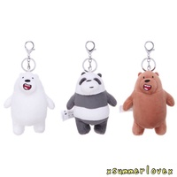 AUTHENTIC WE BARE BEARS KEYCHAIN😍