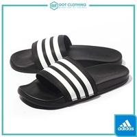 DOT聚點 ADIDAS ADILETTE CF 黑 白 運動 拖鞋 超軟底 軟Q 防水拖鞋 基本款 男鞋 AQ4935