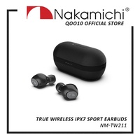 [NEW LAUNCH] Nakamichi TW211 True Wireless IPX7 Sport Earbuds