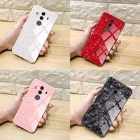 sale Axbety For Huawei Mate 10 Pro mate10 Lite Nova 2i Honor 9i Luxury Conch Shell Phone Case Glossy