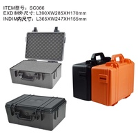 Plastic Travel Bag Dry Box Camera for Waterproof ABS Hard Box Shock-proof Sealing Toolbox