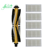 1X Main Brush +5X Filter For Proscenic 780T 790T Replacement Sweeper Accessories