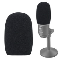 YOUSHARES Foam Microphone Windscreen - Wind Cover Mic Pop Filter Compatible with FIFINE USB Micropho