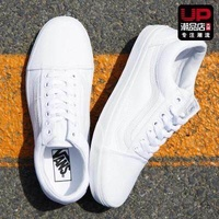_ Classic_VANS _ _ Low_Old_Skool_Skate_Shoes_White_Shoes