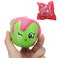 Meistoyland Squishy Fruit Cartoon Slow Rising Toy With Packing Cute Doll Pendant