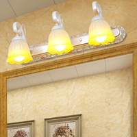 European LED Mirror Lamp Bathroom Garden American Bathroom Mirror Cabinet Lamp Creative Makeup Lighting - intl