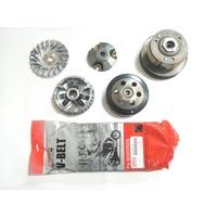 傳動組 離合器 碗公 開閉盤 普利盤 風葉盤 壓版 普利珠 皮帶 原廠型 標準耐用款 全新品 NEW CUXI 115