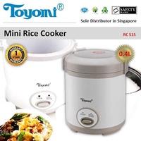 Toyomi RC 515 Rice Cooker 0.4L