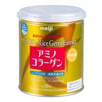 (ส่งฟรี ของแท้ 100%) Meiji Amino Collagen + CoQ10 & amp; Rice Germ Extract เมจิ อะมิโน คอลลาเจน เมจิคอลลาเจนกระป๋องทอง จากญี่ปุ่น 5000 มก. (1 กระป๋อง x 200 g.)