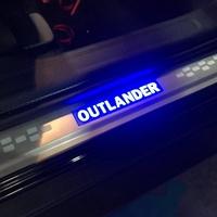 Mitsubishi 三菱OUTLANDER專用LED踏板 門檻條 冷光踏板 迎賓踏板