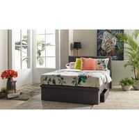 Monto Queen Size Storage Bed Frame in Fabric Upholstery