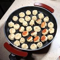 傻廚電煎鍋平底鍋插電不粘鍋韓式烤肉多功能電熱鍋家用烙餅電烤鍋